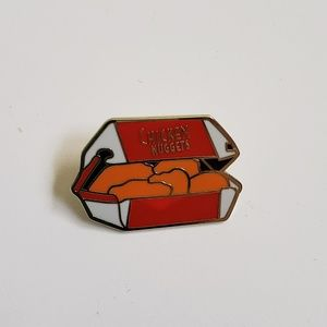 Jewelry - Chicken Nuggets Pin